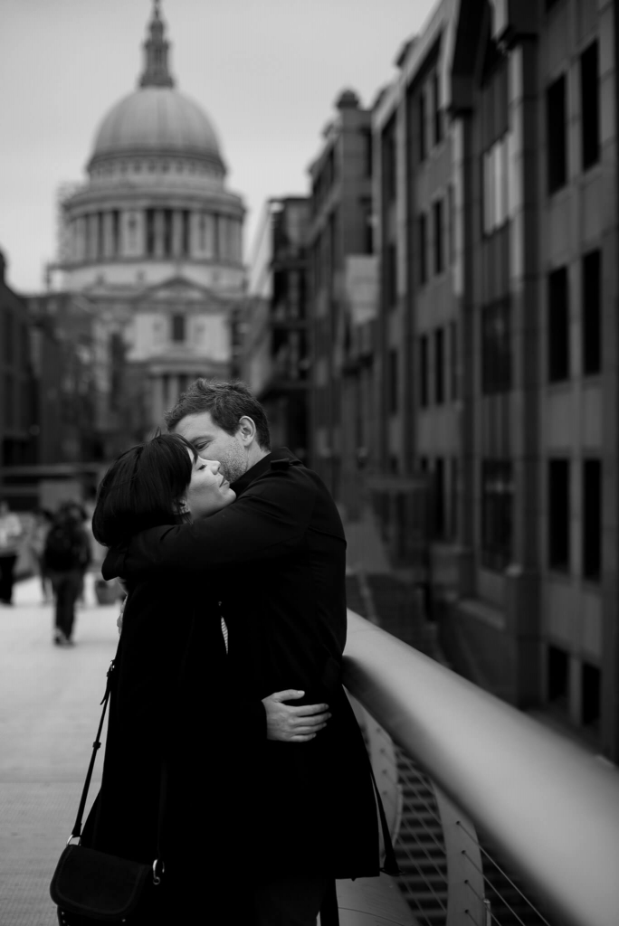 London Couple Session at St Paul's Cathedral