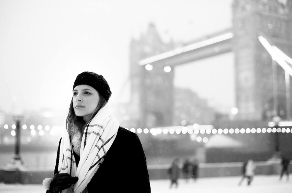 Tower Bridge Photo Session in the Snow