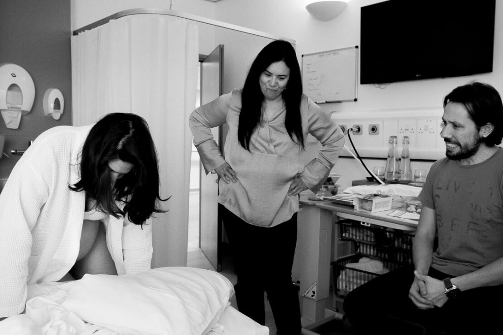 Birth Photography in Chelsea and Westminster Hospital
