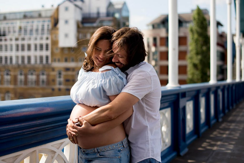 Maternity Photo Session Tower Bridge London